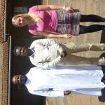 Father John Baptist, Vincent Mongarura, Inga Hornung